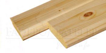 Gerendaház profilú faház építőelem