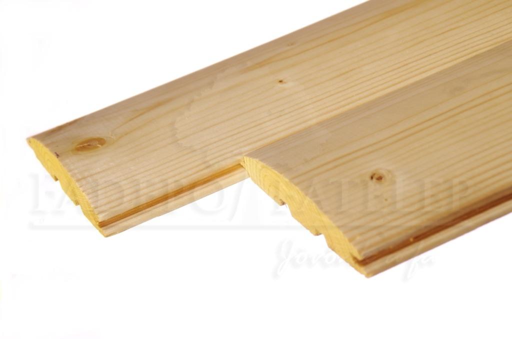 Faház építőburkolat – rönk profilú
