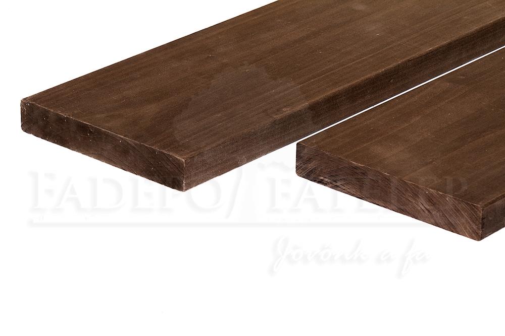 Csomómentes Thermowood Magnolia Szauna Padléc 30x185mm