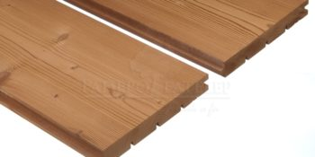 Thermowood fenyő, kefézett felületű padlóburkolat 26x180