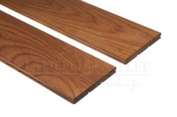 Thermowood kőris keményfa padlóburkolat 15x130mm göcsmentes 190°C hőkezelt
