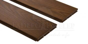 Thermowood kőris keményfa padlóburkolat 15x130mm göcsmentes 215°C hőkezelt