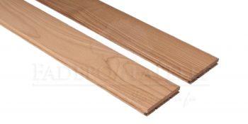 Thermowood kőris kemény fa padlóburkolat 15x90mm csomómentes 190°C hőkezelt