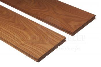 Thermowood kőris keményfa padlóburkolat 18x150mm göcsmentes 190°C hőkezelt