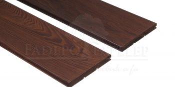 Thermowood kőris keményfa padlóburkolat 18x150mm göcsmentes 215°C hőkezelt