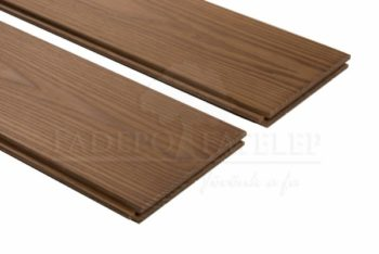 Thermowood kőris keményfa padlóburkolat 18x190mm göcsmentes 215°C hőkezelt
