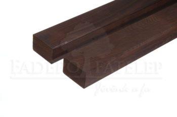 Thermowood kőris szerkezetfa 92x92mm D11