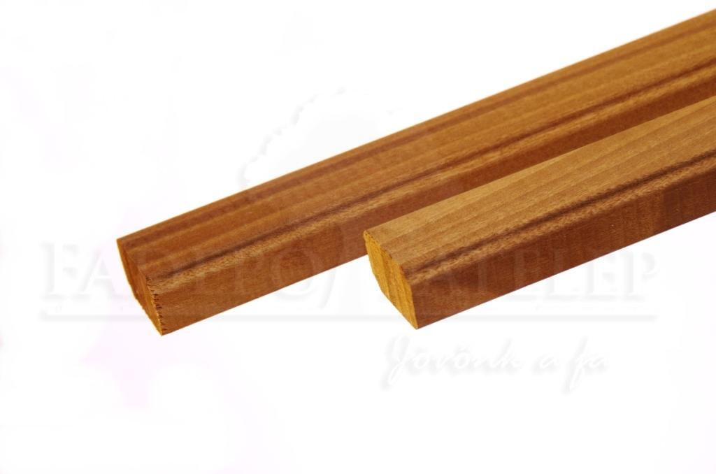Csomómentes Thermowood Nyárfa Szauna Szegőléc, 12x18mm