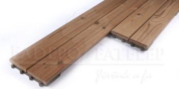 Thermowood Fenyő Quick Deck Mozaik Teraszburkolat 31X199 mm