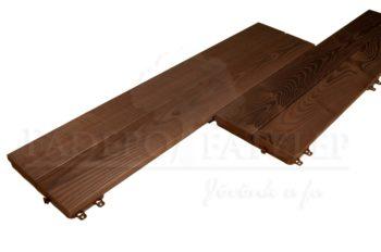 Thermowood Fenyő Quick Deck Maxi 32x238 mm Teraszburkolat - Csavarozható