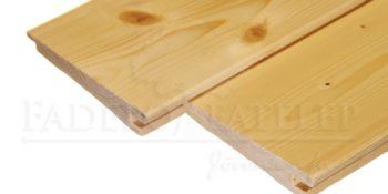 Lucfenyő zsindelyprofilú 26 x 146 mm fa kültéri falburkolat
