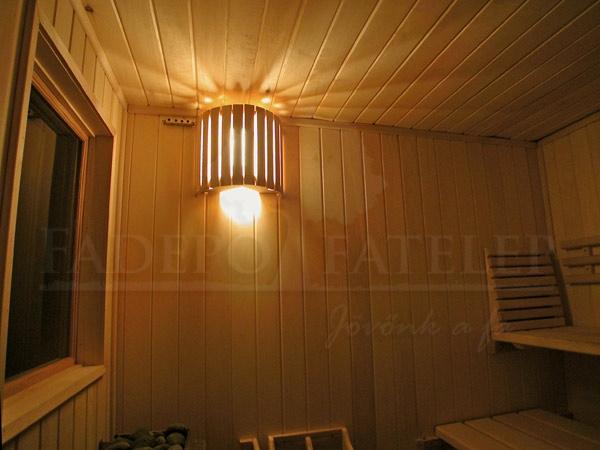Szauna lámpa árnyékolók