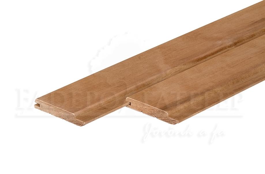 Thermowood Nyárfa Csomómentes Szauna Lambéria, 15x90mm A/B minőség