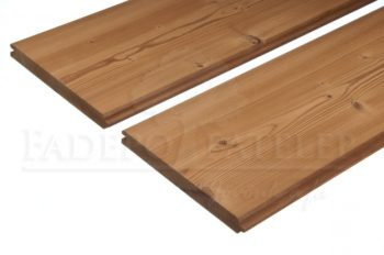 Thermowood Fenyő C3 (Fózolt) - Kefézett Profilú Fa Kültéri Falburkolat 20X140 mm 'A' minőség
