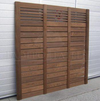 Thermowood Kőris Egyedi Méretre Épített Térelválasztó Fal 38x900 mm