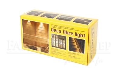 Szauna Deco Light - 16 szál vastag üvegszáloptika