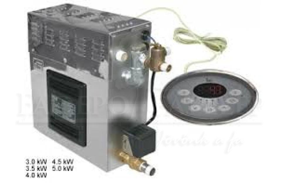 Sawo Gőzgenerátor Szett Innova Vezérléssel 5.0 kW-ig