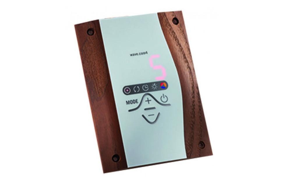 Wave.Com4 szauna fény- és hangterápia vezérlés és kiegészítői