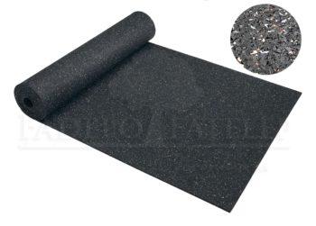 Újrahasznosított gumiőrleményből készített gumilemezek