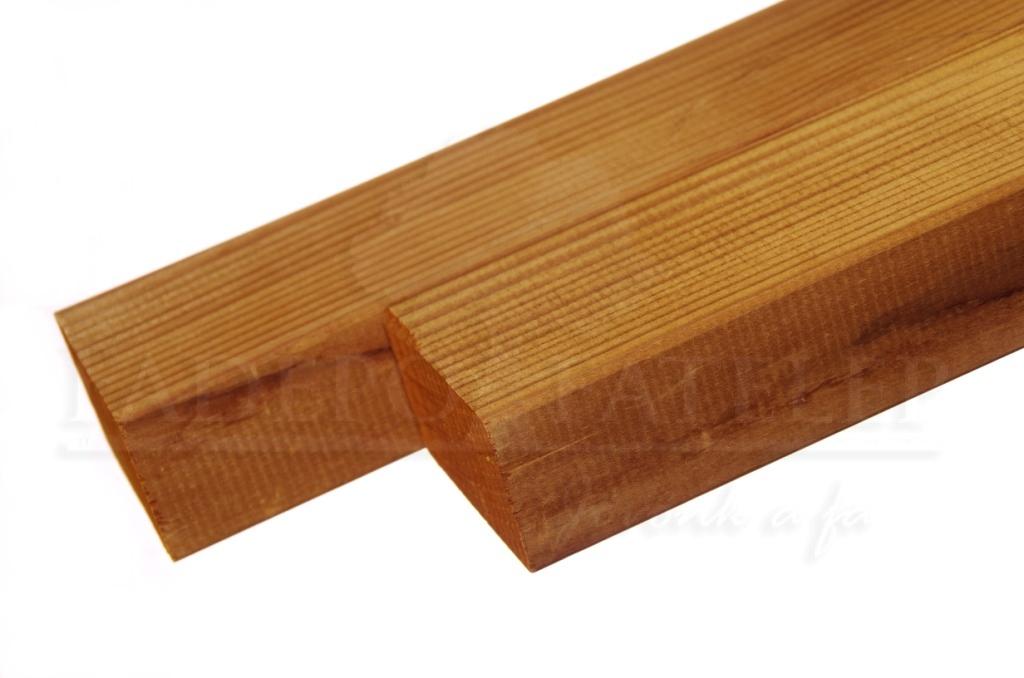 Thermowood fenyő szerkezetfa 42×68 mm B minőség