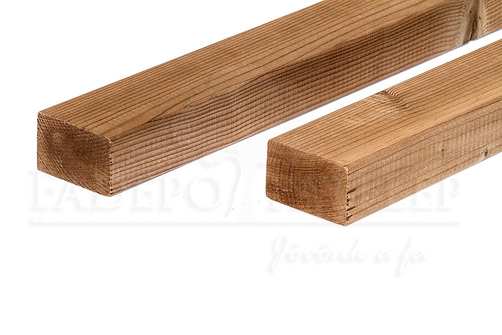Thermowood fenyő szerkezetfa 42x68 mm A minőség