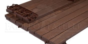 Thermowood Kőris Quick Deck Maxi Slim Teraszburkolat 32 x 238 mm
