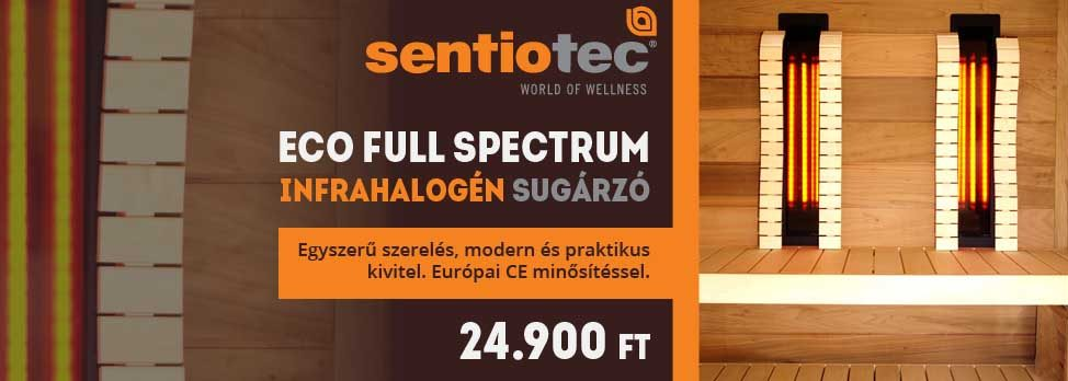 Sentiotec ECO Full Spectrum Infrasugárzó panel
