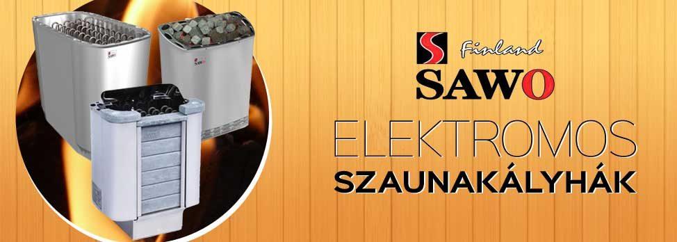 SAWO ELEKTROMOS SZAUNAKÁLYHA
