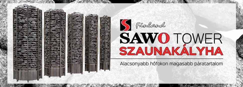 Sawo Tower elektromos szaunakályha 3,0-24,0 kW